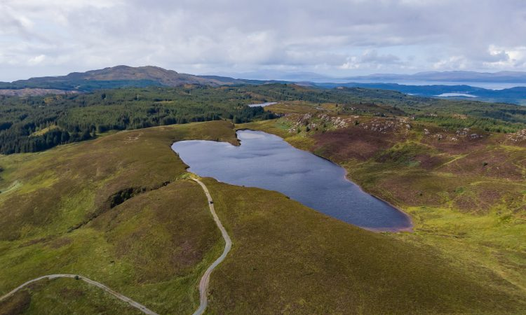 Area of hill ground and loch in Scotland 'with great amenity value' for sale