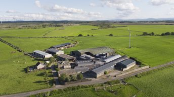 Renowned dairy farm for sale in North Lanarkshire