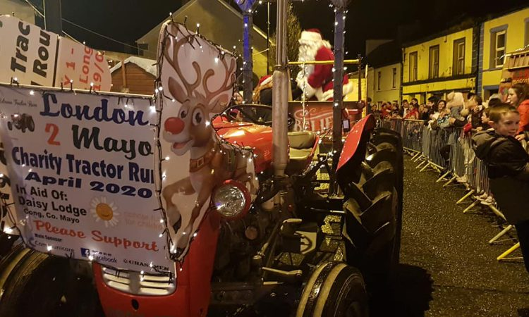 Extreme tractor run chartered for charity to Mayo…from London