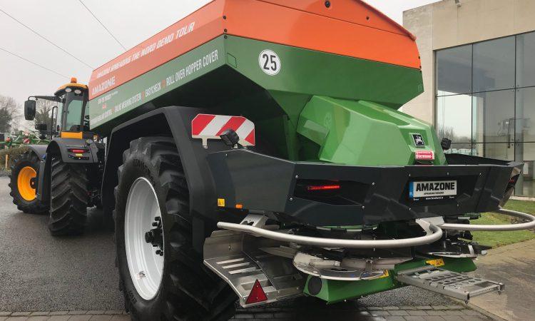 Amazone ZG-TS: Formidable new fertiliser spreader from Farmhand