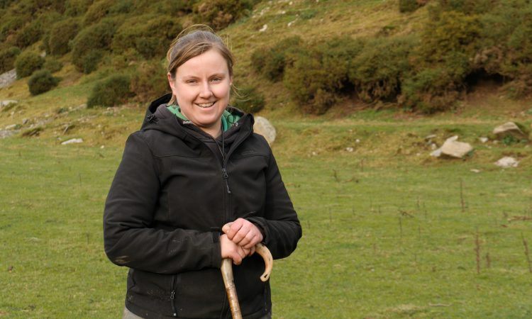 Young hill farmer stars in £250,000 campaign