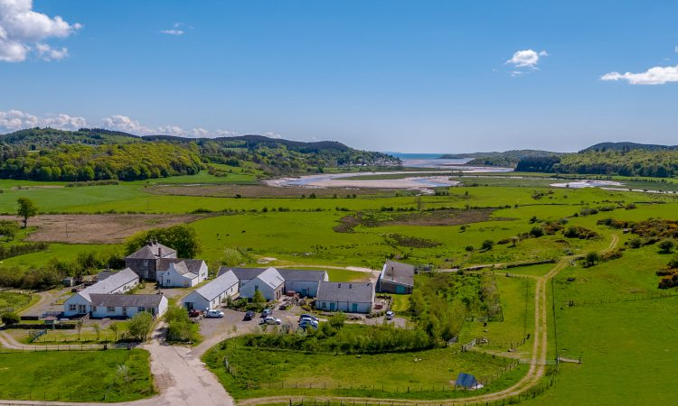 Change of scene: Diverse farm portfolio with 238ac and 10 holiday cottages…in Scotland