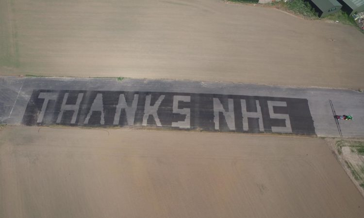 Farmers and suppliers join forces to thank NHS