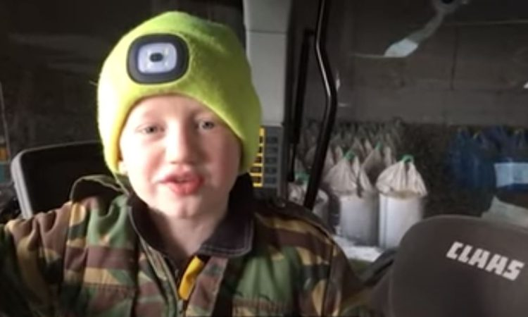 9-year-old Aberdeenshire lad named Farm Kid Diaries competition winner