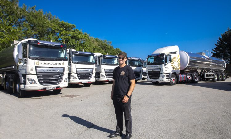 North Wales creamery invests £600,000 in low-emission fleet