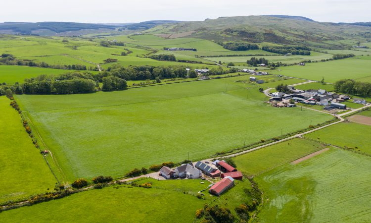 73ac of pasture and arable land up for grabs in 4 lots