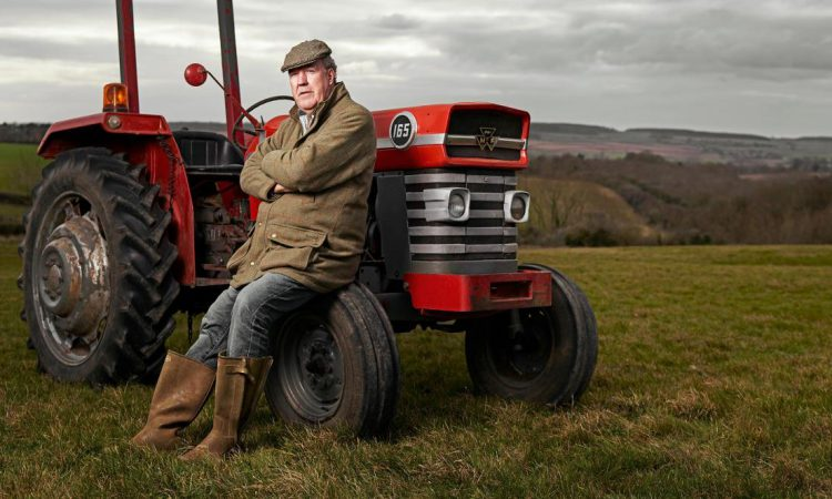 A millionaire's view of farming…and the harvest