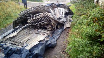 Hazardous waste dumped on farm in Dumfriesshire