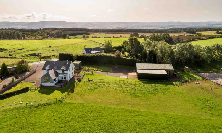 Residential holding on 6.83ac on offer with stables and riding arena