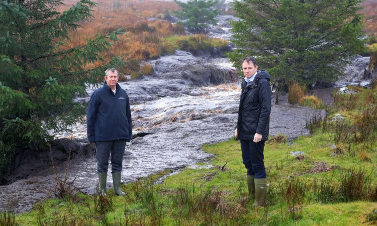 Peat slide: Ministers 'shocked' at devastation as cross-border response group visits site