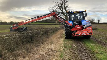KUHN launches new telescopic arm hedge and verge cutter