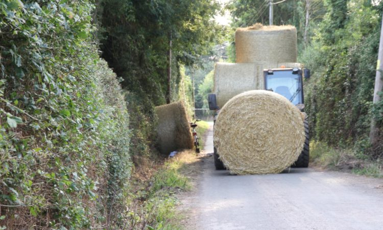 Farm worker convicted after straw bales incident leaves cyclist brain damaged