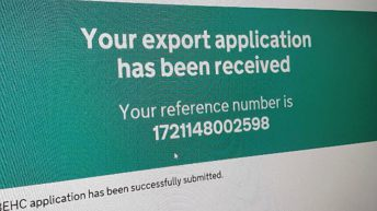 60-70% of UK exports landing in Rotterdam with incorrect paperwork