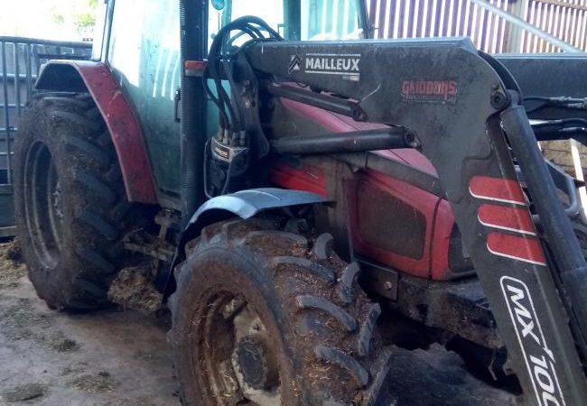 Massey Ferguson tractor stolen in farm theft in Somerset