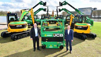JCB receives biggest ever UK order with £65 million order for 2,100 JCB machines