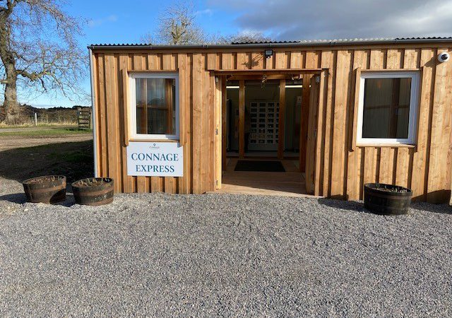 New milk vending machines opened at Connage Highland Dairy