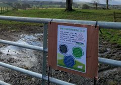 NFU Scotland creates posters to educate the public on responsible farmland access