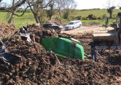 Investigation over buried machinery continues one year on