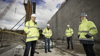 Work continues on £10 million project at Belfast Wastewater Treatment Works