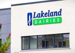 Lakeland Dairies' revenue increases by over 5.7% to €1.09 billion in 2020