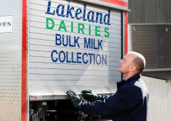 Lakeland increases milk price for March