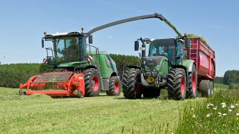 Dry and cold weather hampers early first-cut silage