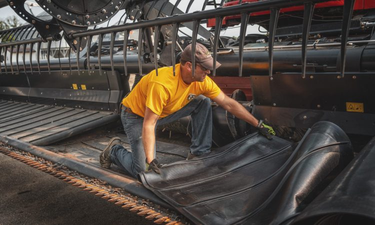 How to save downtime when replacing belting on balers