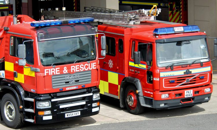 Rescue operation for 82-year-old stuck underneath tractor