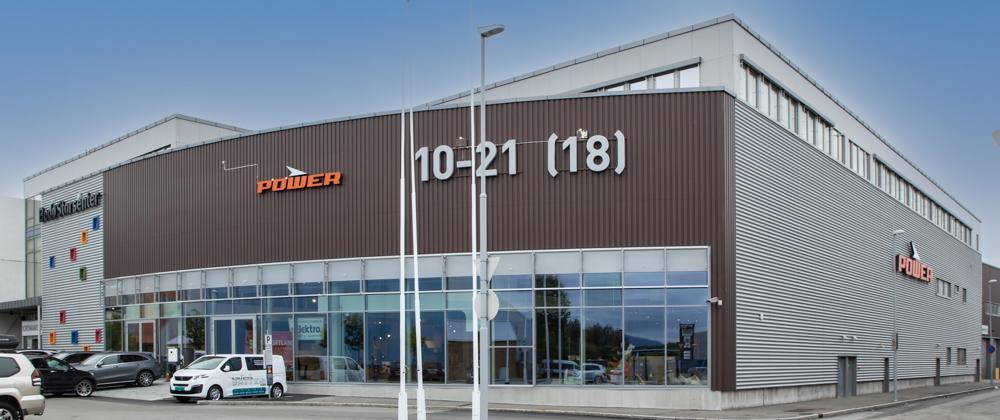 BYENS STØRSTE BILHUS: Nordvik har skapt Bodøs største bilhus og ser frem til å tilby topp service og høy kvalitet i alle ledd.