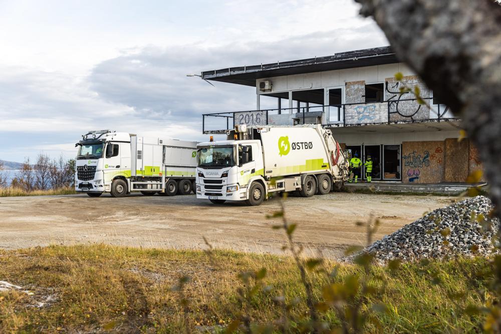 EN GRØNNE LANDSDEL: Østbø sørger hver dag for at Nord-Norge kommer nærmere det grønne skiftet og en bærekraftig fremtid. Foto: Drone Nord