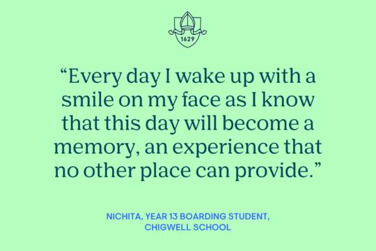 Student Blog: Life as a Boarder at Chigwell (Nichita, Year 13)