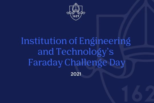 Institution of Engineering and Technology's Faraday Challenge Day 2021