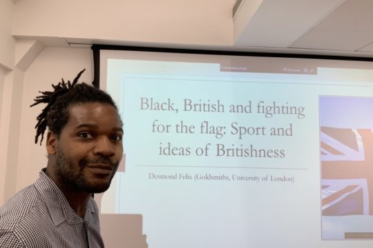 Black, British and fighting for the flag: Sport and ideas of Britishness