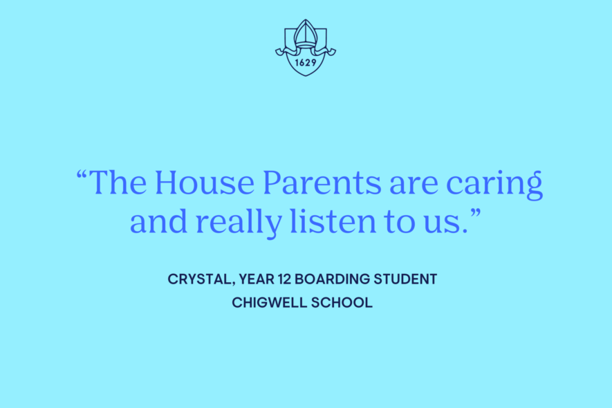 Student Blog: Life as a Boarder at Chigwell (Crystal, Year 12)