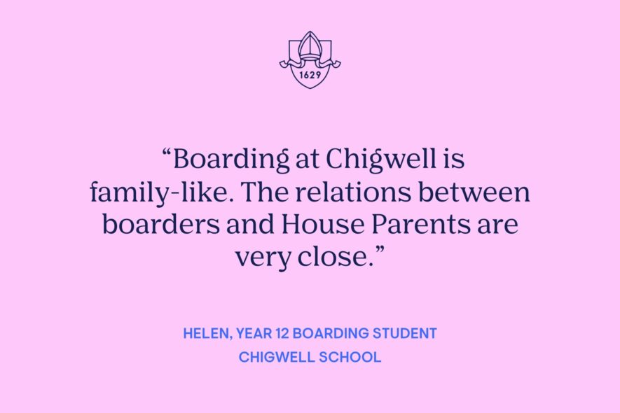 Student Blog: Life as a Boarder at Chigwell (Helen, Year 12)