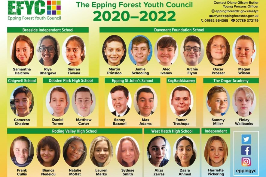 Student Voice: Cameron on the Epping Forest Youth Council