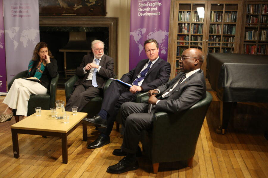 Launching commission findings — Blavatnik School of Government