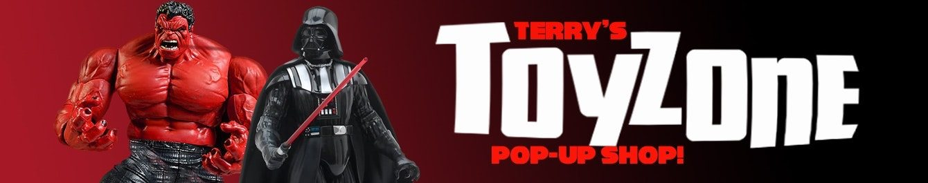 Terry's Toyzone Pop-up Shop!