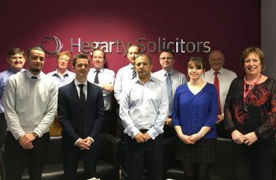 Hegarty Solicitors Charity Walk