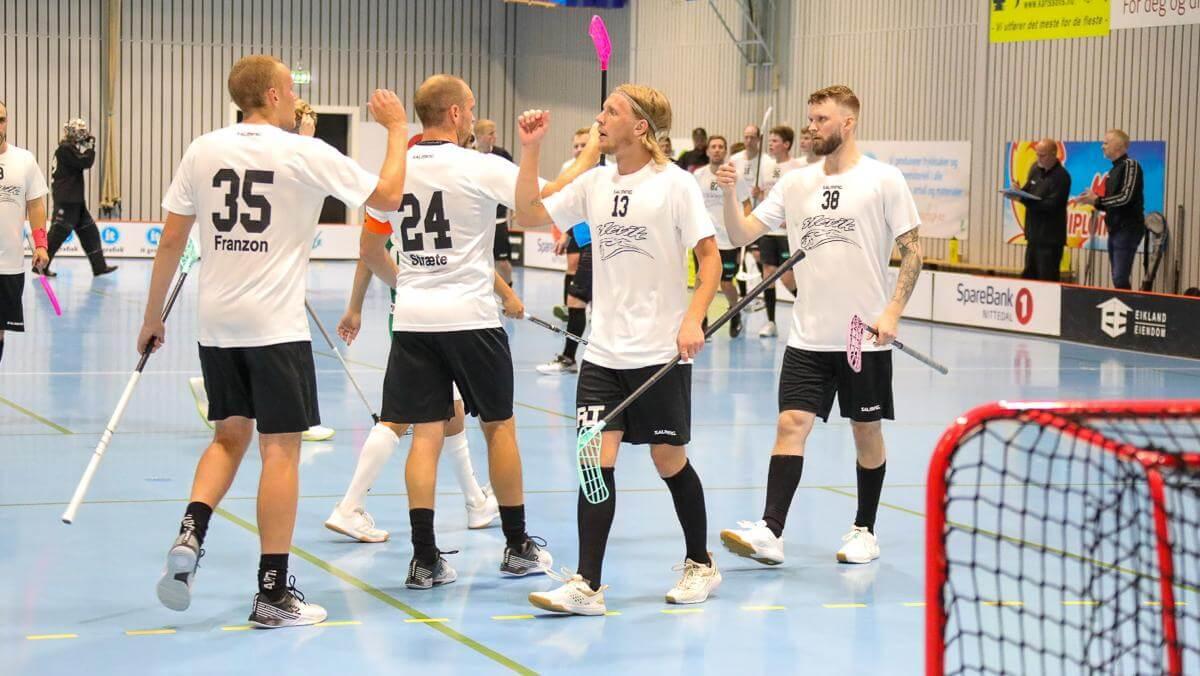 Slevik lå under med tre mål men lyktes allikevel å vinne mot Gjelleråsen. Foto: Tor Anders Dalland