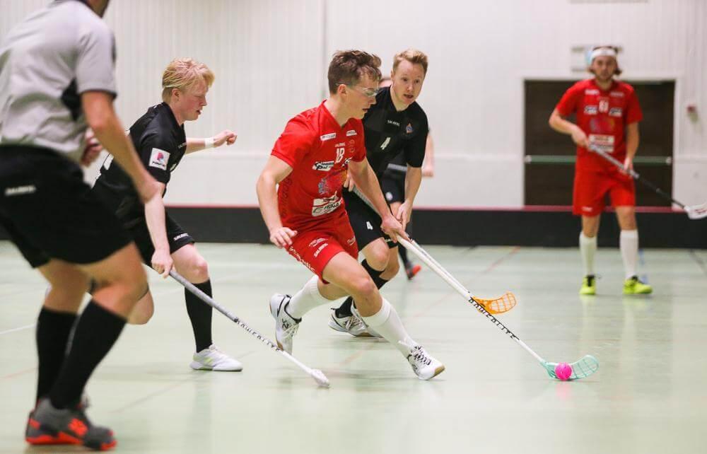 Andreas Grønli (18) har på tross av ung alder fått mye tillit på backplass hos Greåker, og har spilt tre sesonger i eliteserien. Foto: Kent Henriksen