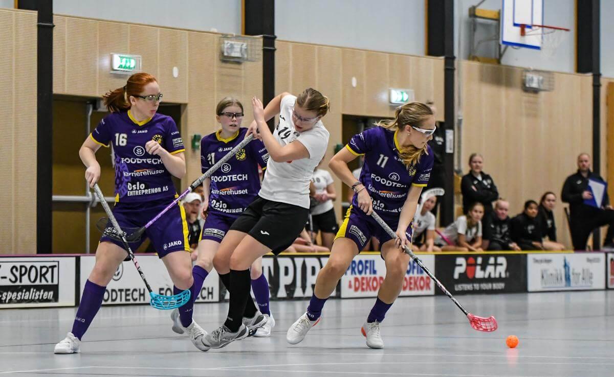 Tunet har vunnet tre strake kamper i årets sesong. Foto: Andreas Kristoffer Berge / Kvinneidrett.no