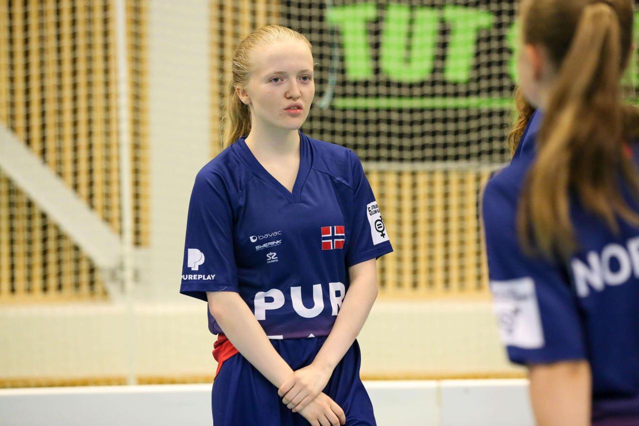 Bilder fra Vikingen 2021 for U19 kvinner i Jessheim flerbrukshall