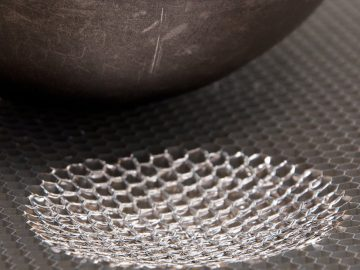 Impact protection via honeycomb