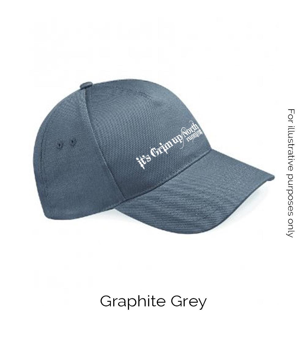 Grim baseball cap