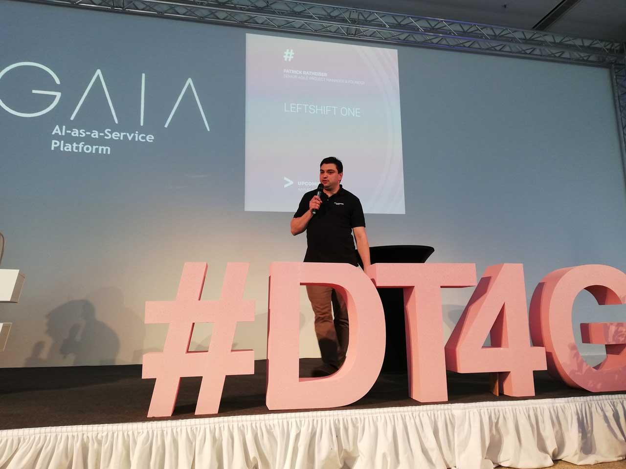 Patrick Ratheiser präsentiert E-Mail Automation mit G.A.I.A.