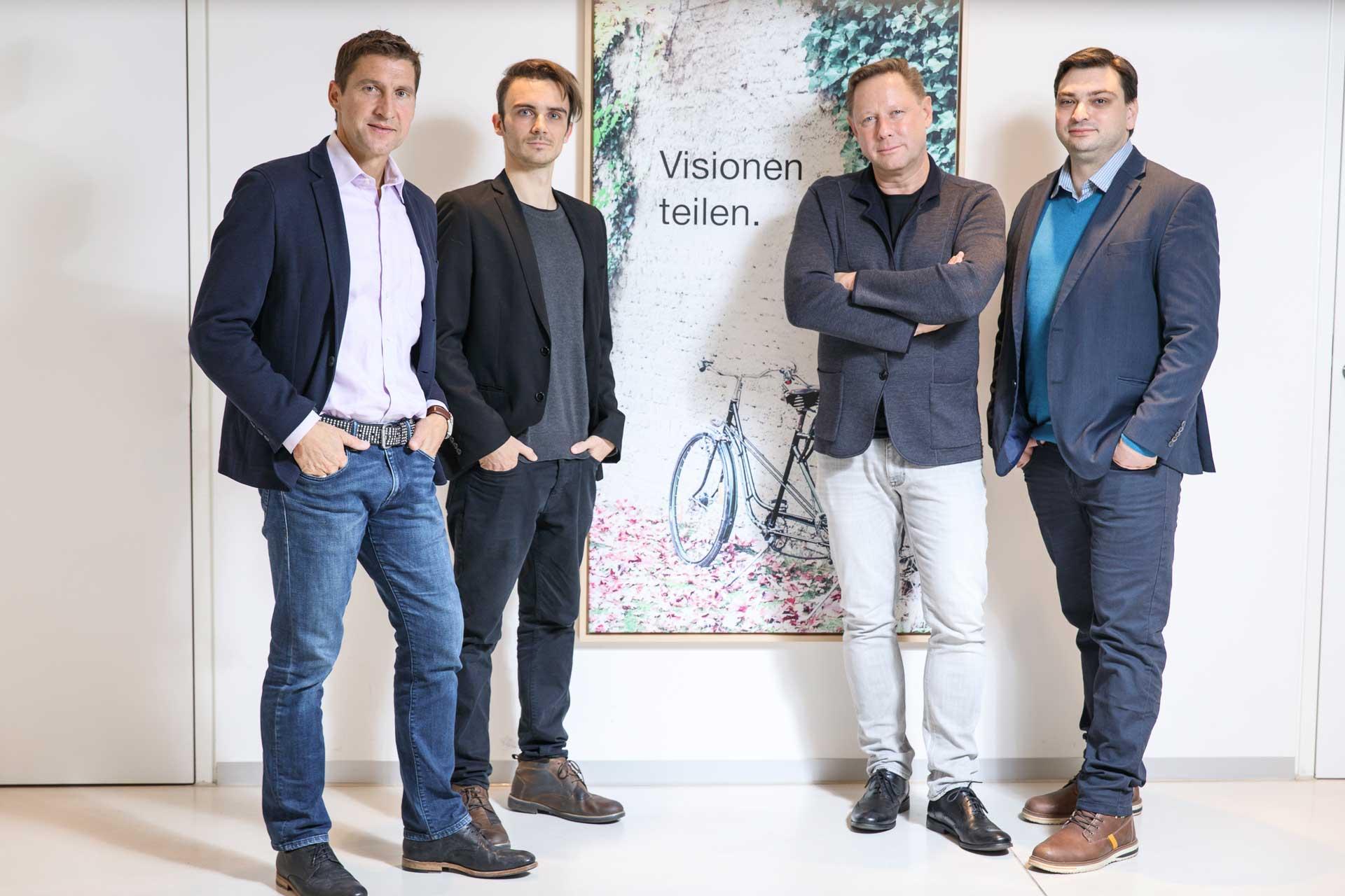 Investoren und das Leftshift One Gründerteam
