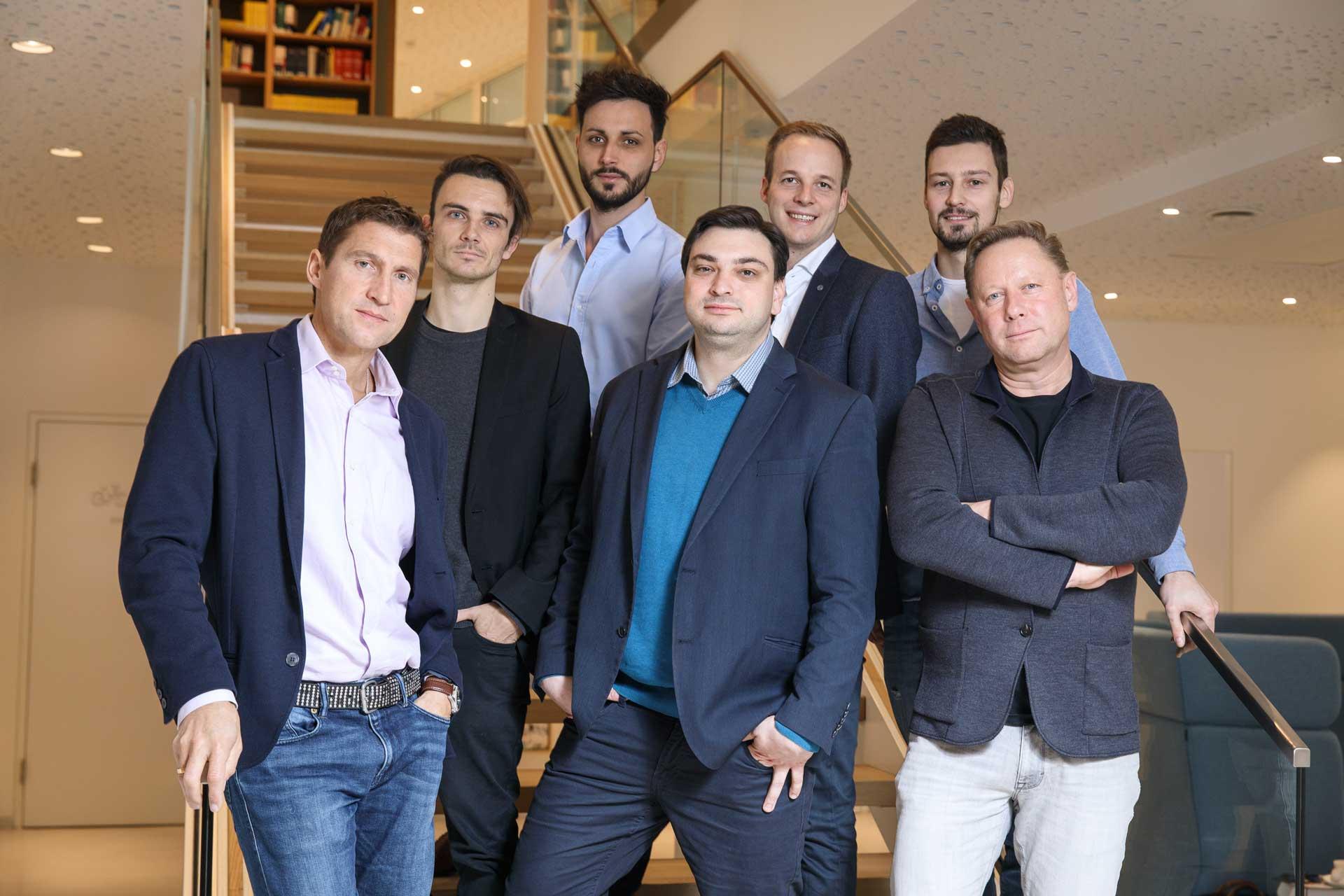 Investoren und Gründerteam