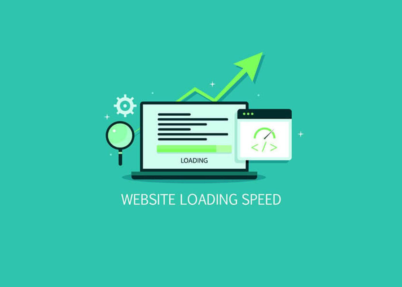 Focus on website speed