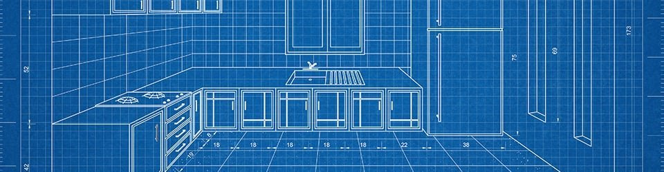 Bespoke kitchen design - schematics